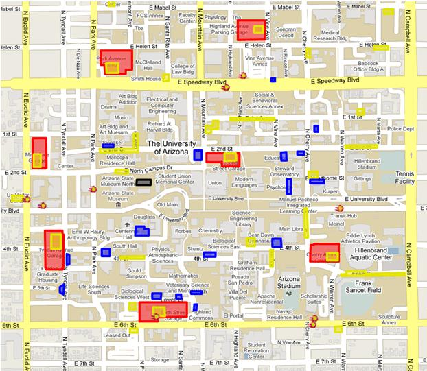 Map And Transportation The University Of Arizonas Center For - Mapof arizona